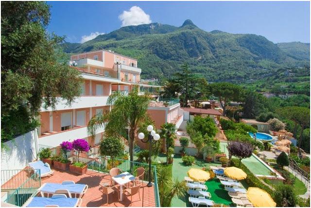Insel Ischia Hotel Terme La Pergola In Casamicciola